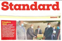 Egypt delivers food aid to Kenya